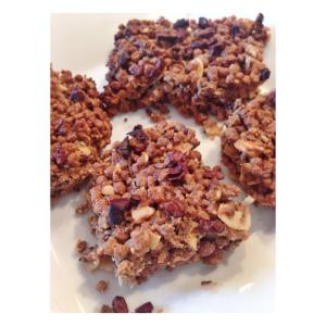Puffed Quinoa Bars