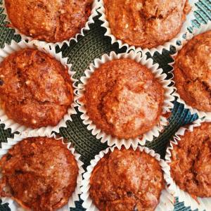 carrot pecan muffins