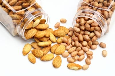 Peanuts & almonds