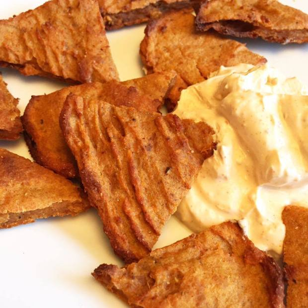 Sweet Potato Triangles