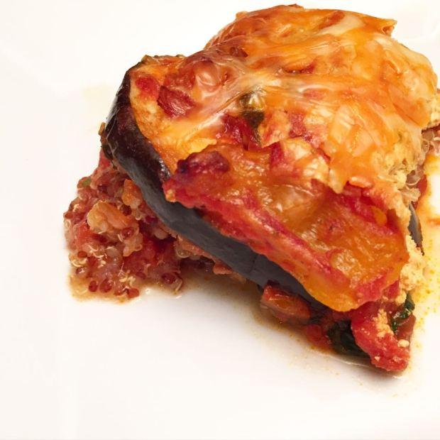 Veggie Quinoa Lasagna