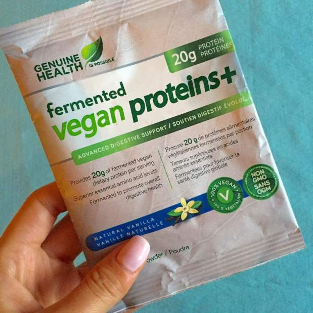 Genuine health protein powder