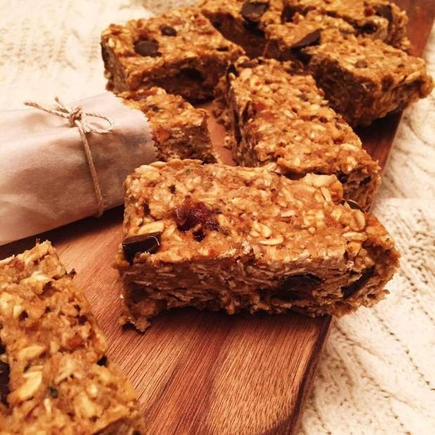 No Bake Vanilla Protein Bars
