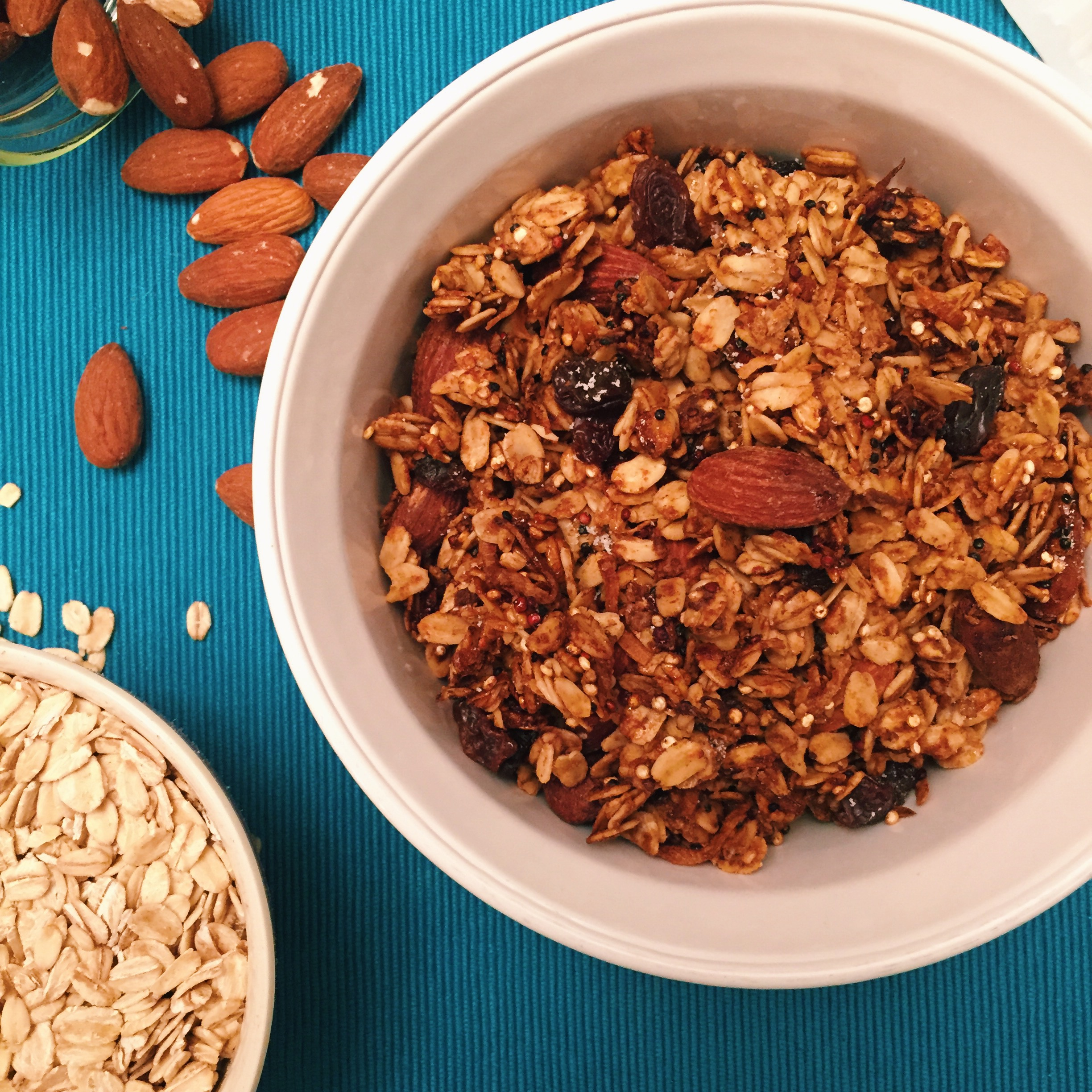 how to make crunchy granola