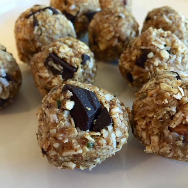 oat chocolate coconut